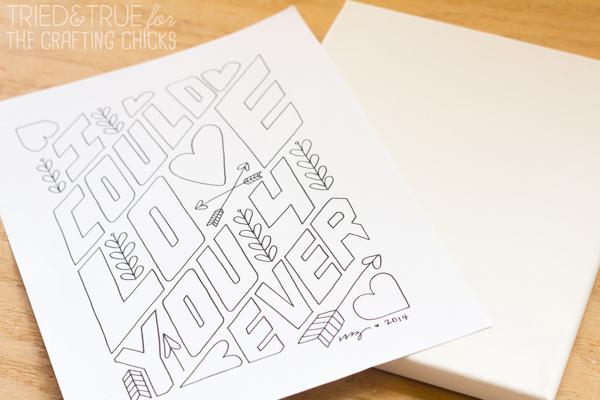 How To Make Free Artwork - Print