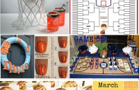 16 Sweet Ideas for March Madness - This has everything I need for a great basketball party!