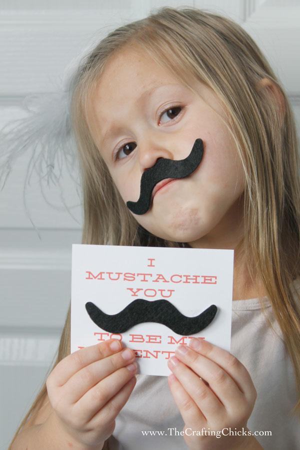 Valentine-Mustache