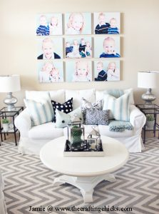 canvas wall