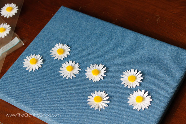 flowers-on-denim-canvas