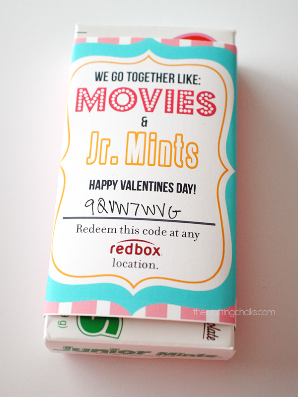 Junior Mints Redbox Wrapper