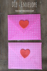sm diy envelope header