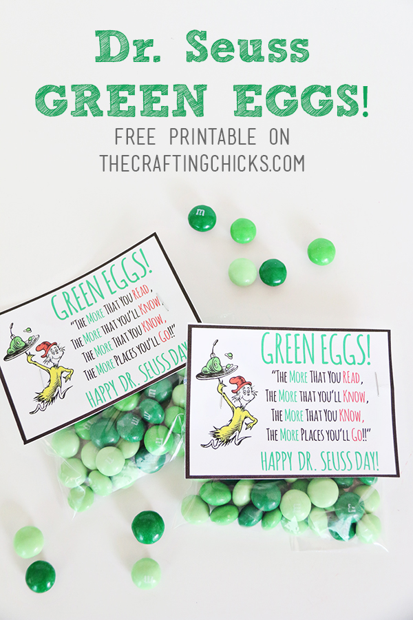 Dr. Seuss Green Eggs Tag *Free Printable
