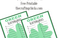 sm green scattergories