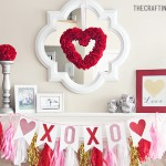 Valentine Mantle Inspiration