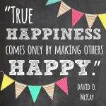 True Happiness Quote *Free Printable