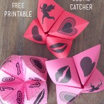Valentine Cootie Catchers & Free Printable