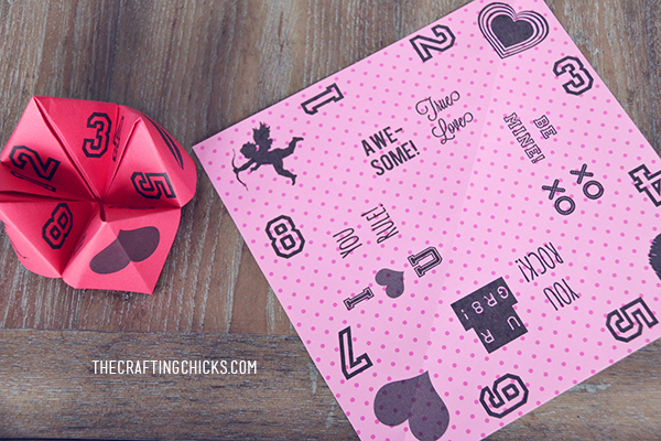 valentine cootie catchers free printable the crafting