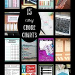 15 easy Chore Charts that your kids will love!