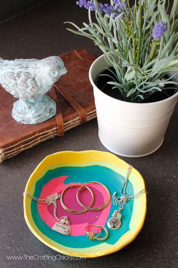DIY Jewelry Dish Gift Idea