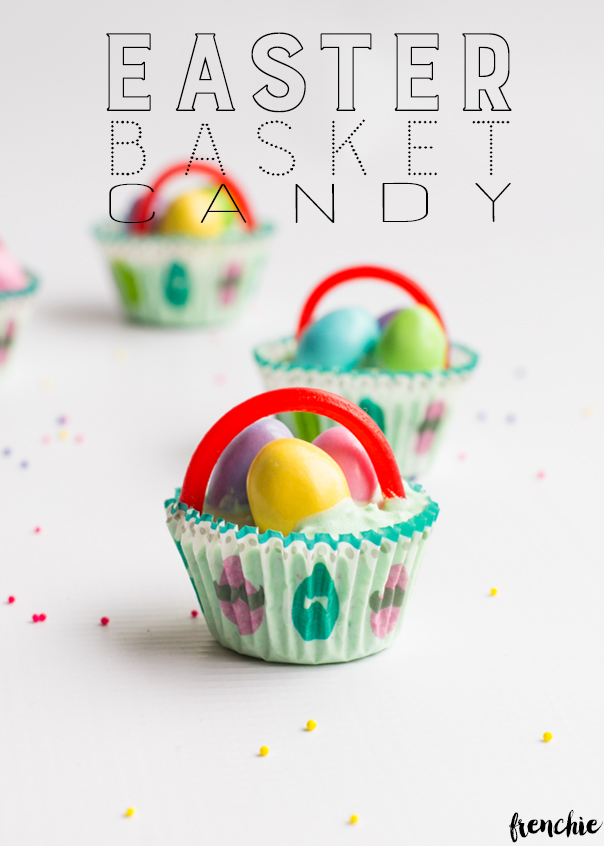 homemade Easter chocolate baskets