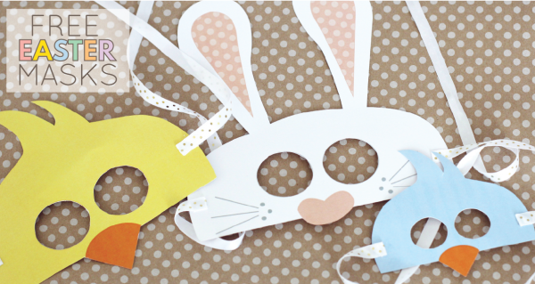 FREE EASTER MASKS