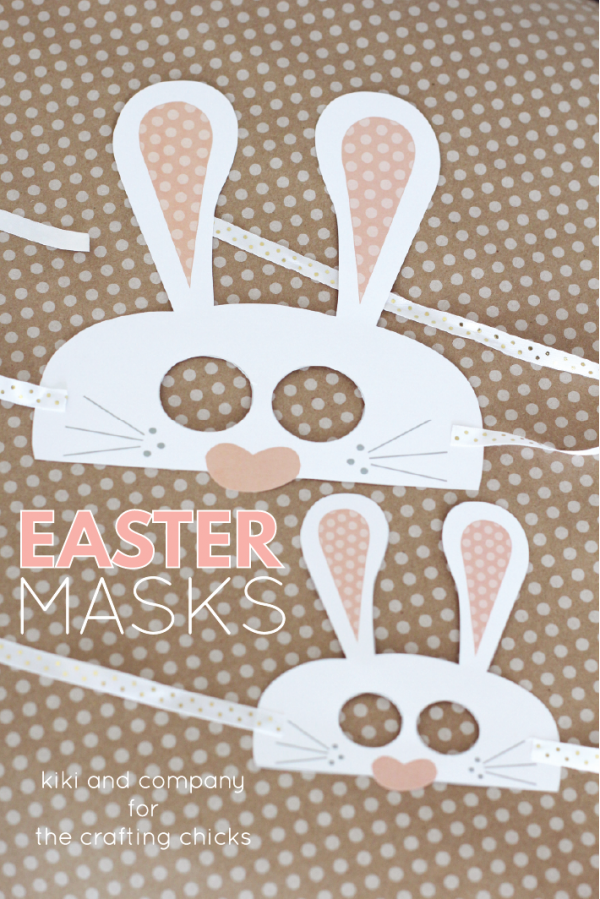 Free Easter Masks at thecraftingchicks.com CUTE!