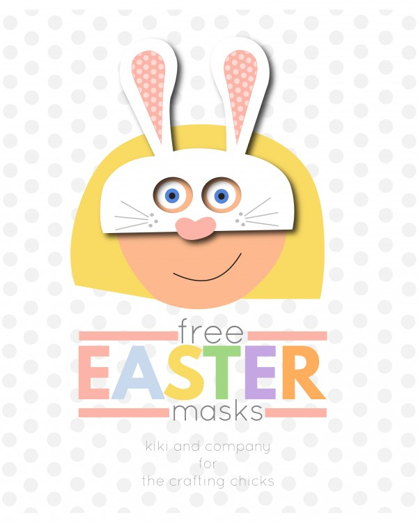 Free Easter Masks from kiki and company at the crafting chicks. LOVE these e1425421224367