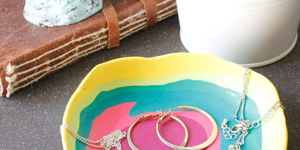 DIY Jewelry Dish