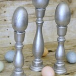 PB Inspired Silver Egg Stands