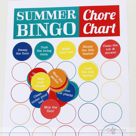 Easy Chore Charts