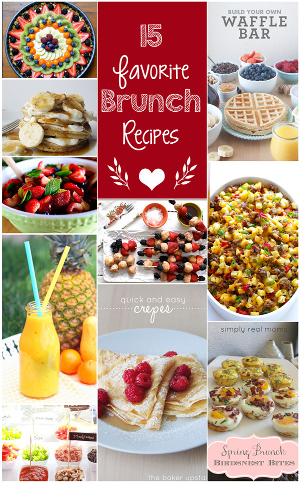15 of our Favorite Brunch Recipes