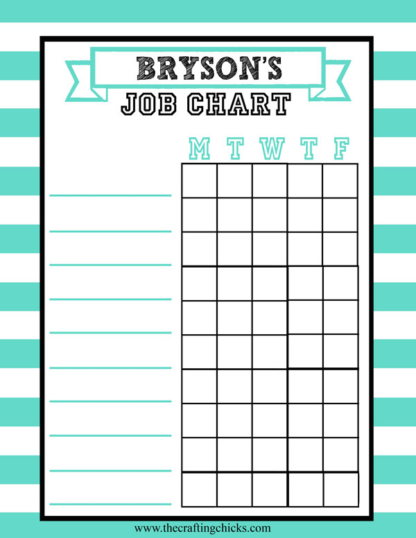 15 easy chore charts that your kids will love!  These printables are so great (and easy)!