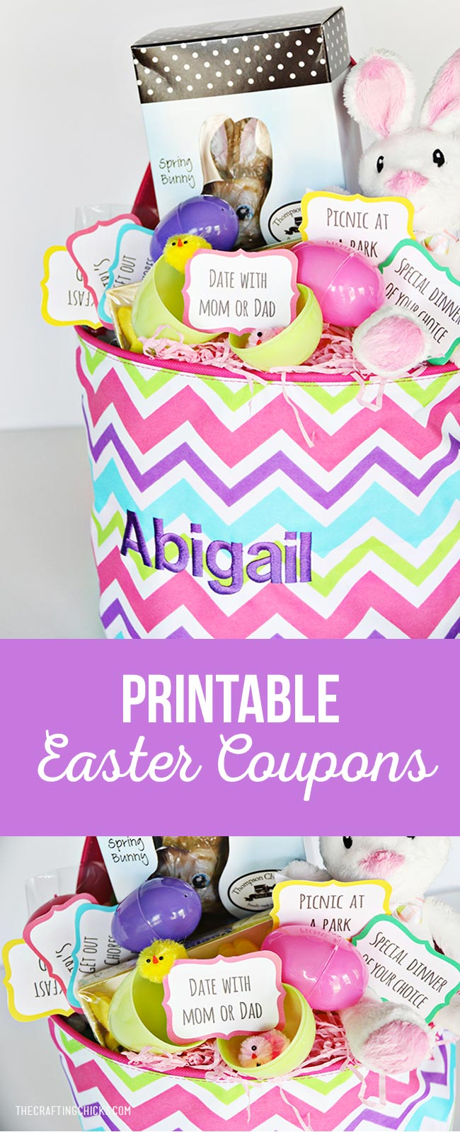 Printable Easter Coupons Egg Fillers