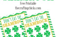 sm dont eat the shamrock header