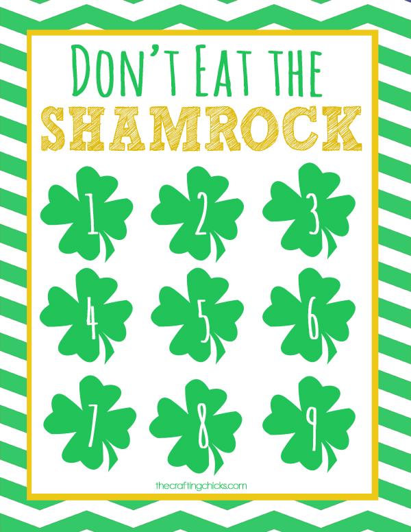 sm dont eat the shamrock