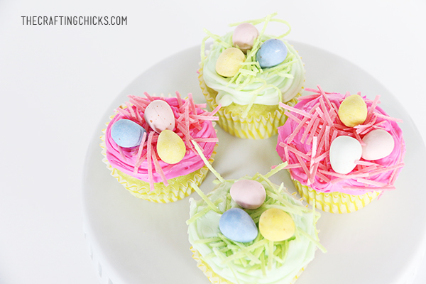 sm easter basket cupcakes 1