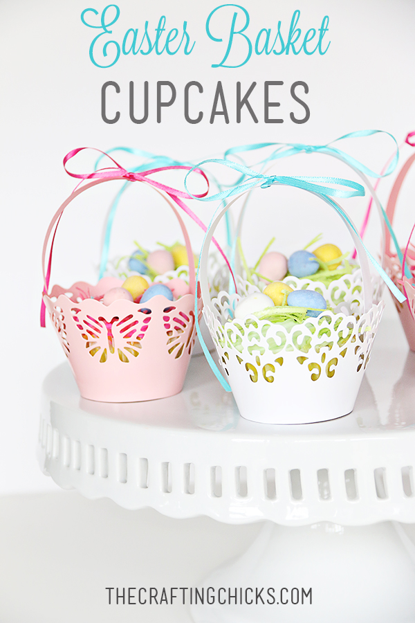 Easter basket cupcakes the crafting chicks sm easter basket cupcakes header negle Image collections