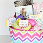 A Personalized Easter Basket *Free Printable Easter Egg Coupons