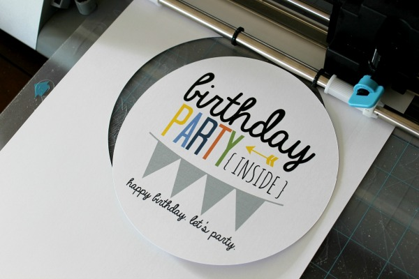 Party in a Can birthday party gift idea