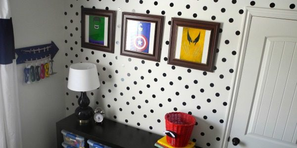 Boy's Superhero Bedroom