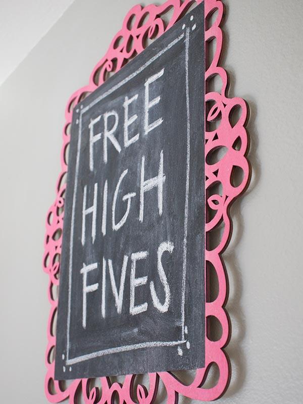 Free High Fives Teacher Gift Idea