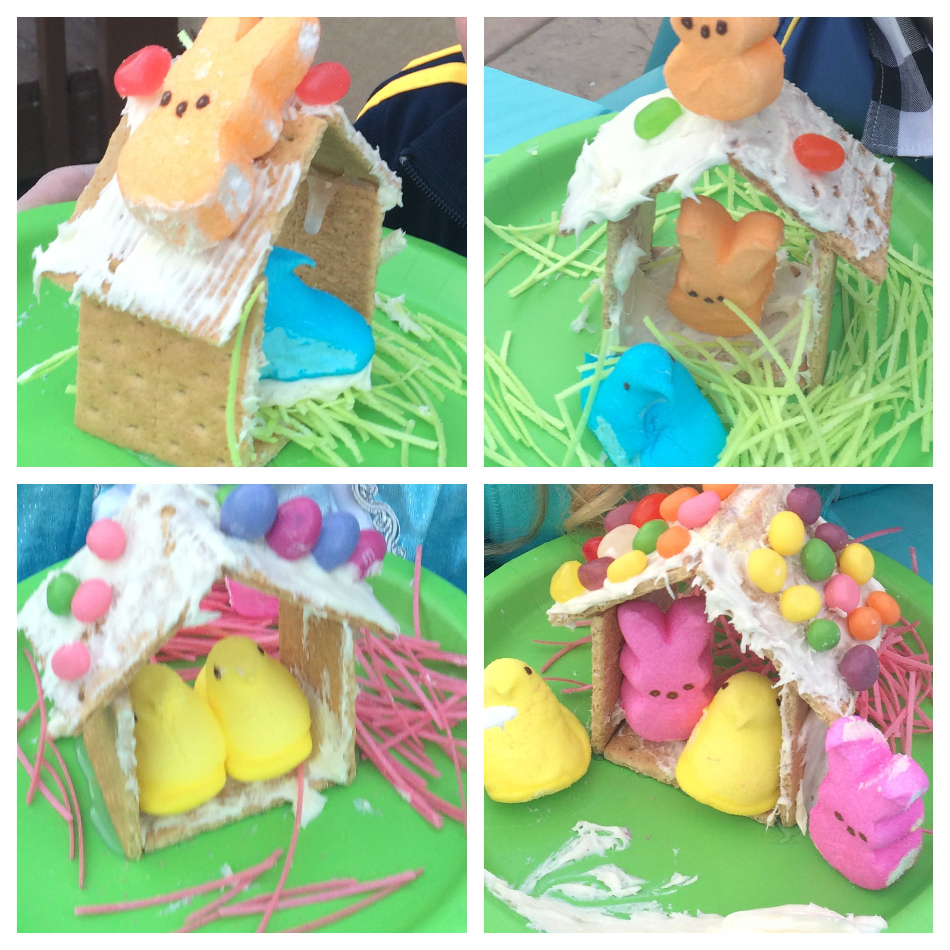 Peep Candy Houses