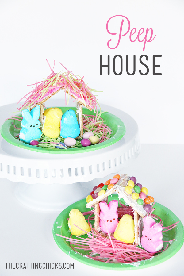 Peep House - A yummy Easter activity and snack!