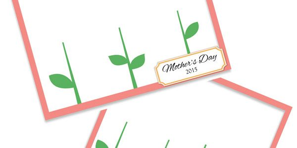 Mother's Day Handprint Flower Free Printable