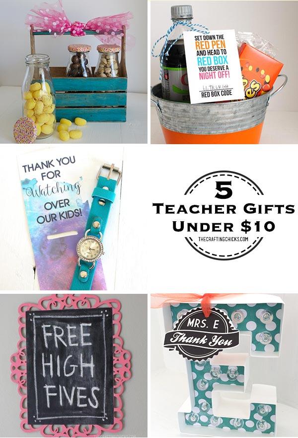 5 teacher gifts under $10