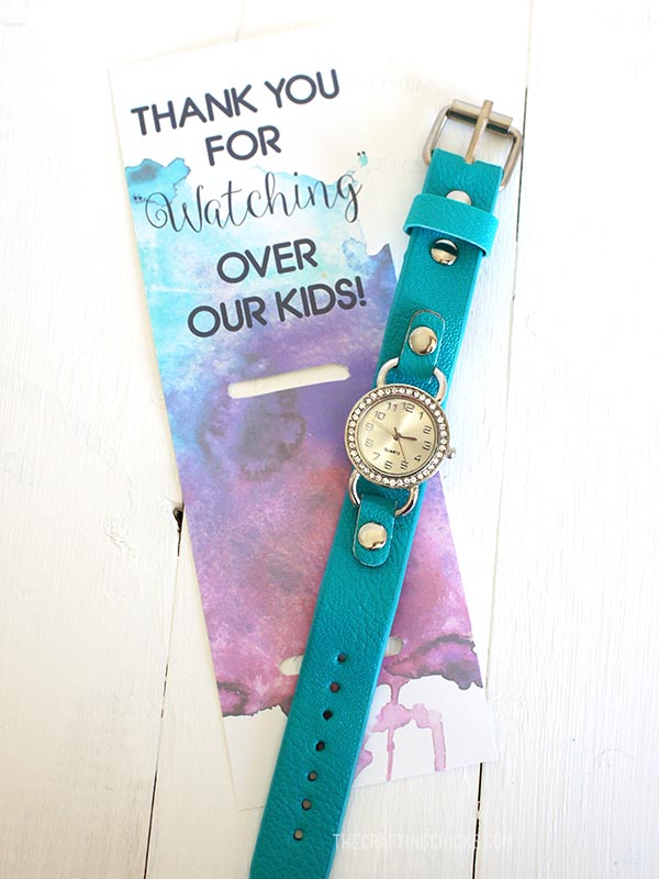 watch teacher gift