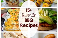 15+ family favorite BBQ recipes - Burgers, steaks, sides, desserts... Love these recipes for the grill!