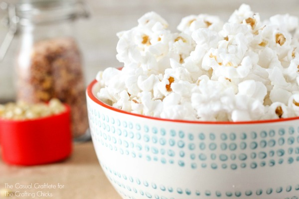 Easy to make homemade popcorn recipe