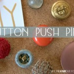 DIY Button Push Pins