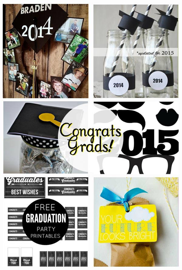 Graduation Printables and Gift Ideas - Everything you need for your Grad!