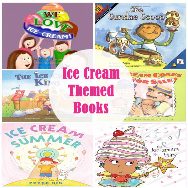 Ice Cream Themed Kids Books