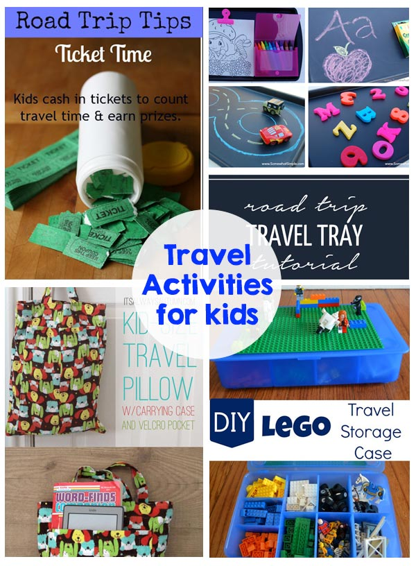 Traveling with kids - games, activities - this has it all!