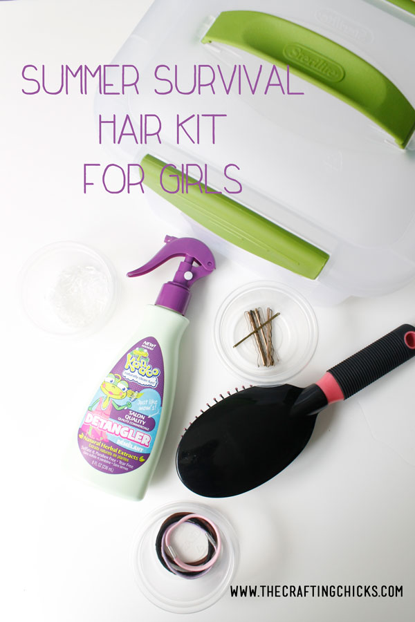 Summer Survival Hair Kit for Girls