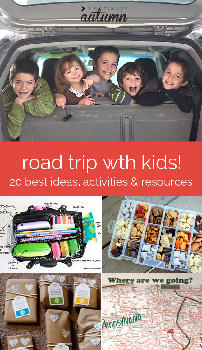 Road Trip with Kids | Best ideas, activities and resources