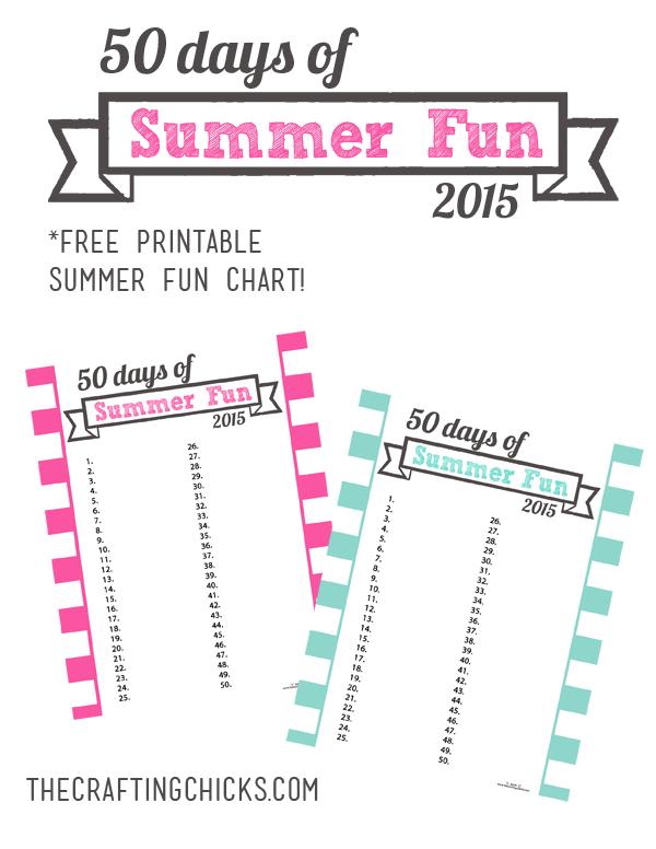 Summer Fun Chart