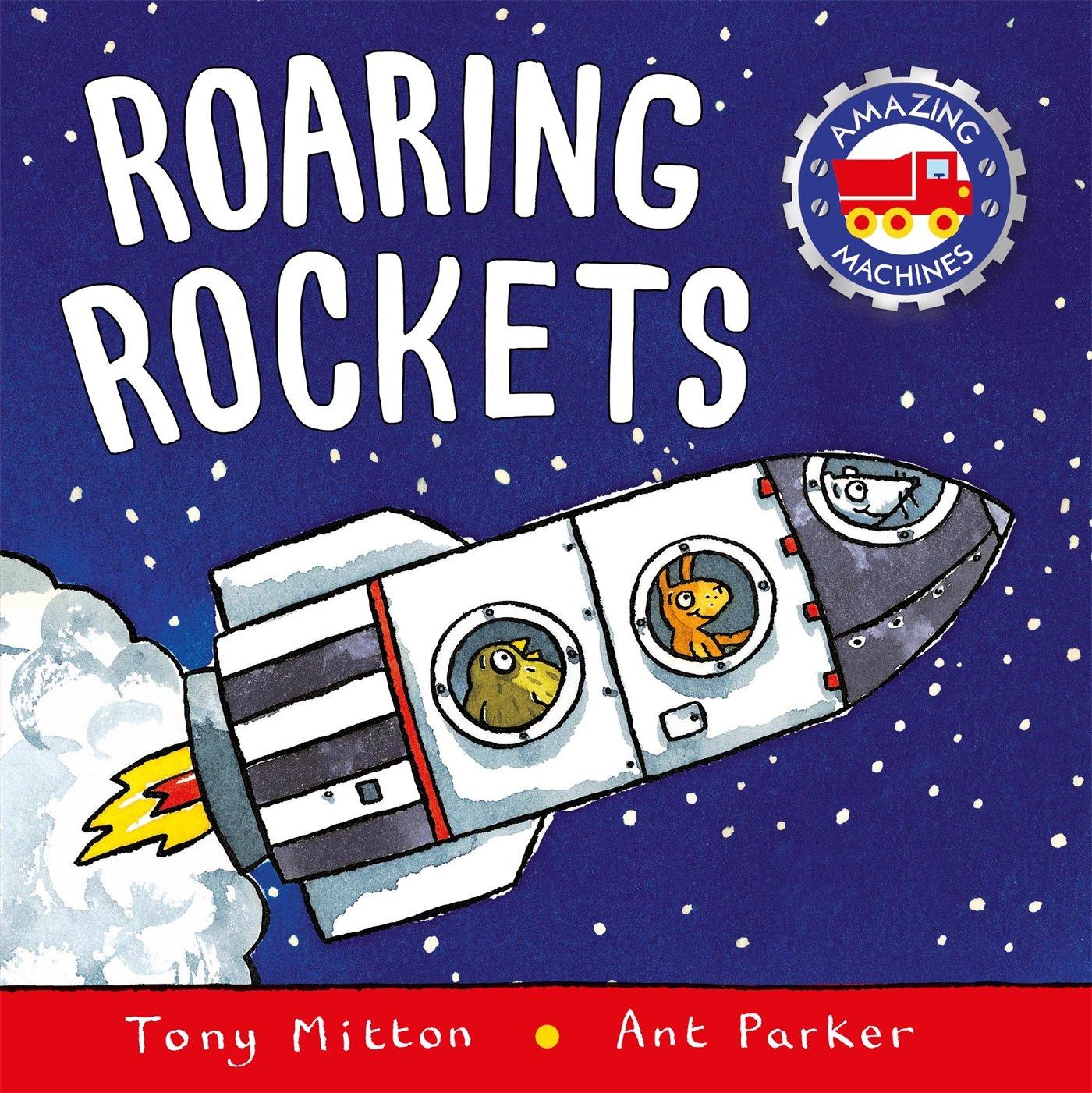 space roaring rockets