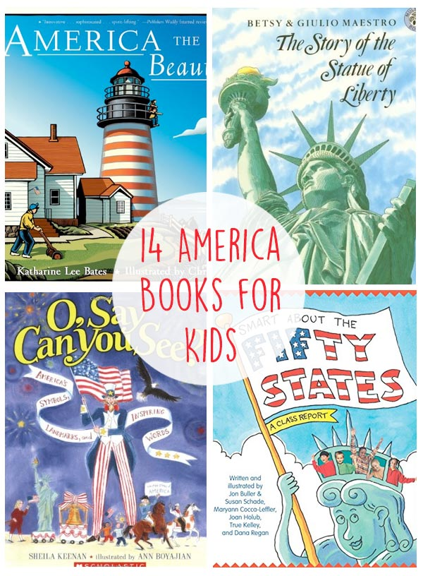 America Themed Books for Kids