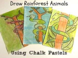 Draw with Chalk Pastels Art Activity